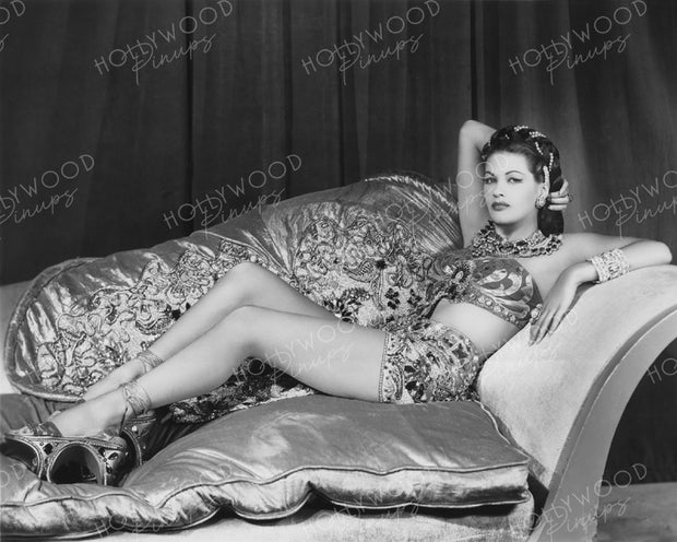 Yvonne De Carlo SONG OF SCHEHERAZADE 1947 | Hollywood Pinups | Film Star Colour and B&W Prints