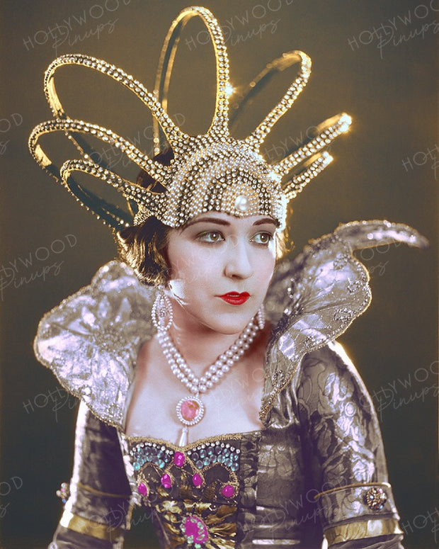 Aileen Pringle by CLARENCE BULL 1923 | Hollywood Pinups | Film Star Colour and B&W Prints