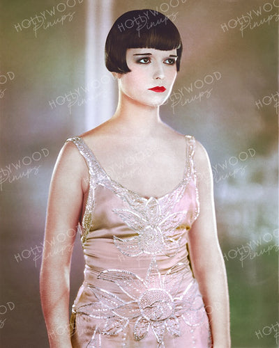 Louise Brooks in A SOCIAL CELEBRITY 1926 | Hollywood Pinups | Film Star Colour and B&W Prints