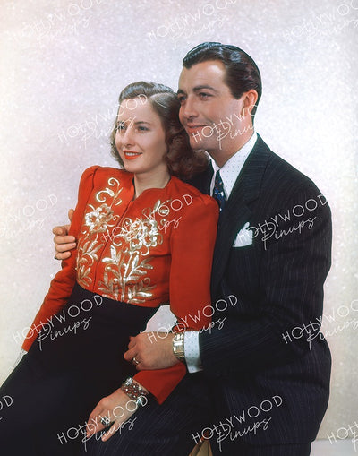 Barbara Stanwyck & Robert Taylor NEWLYWEDS 1939 | Hollywood Pinups | Film Star Color and B&W Prints