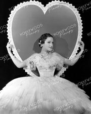 Dorothy Lamour Valentines Heart 1937 | Hollywood Pinups Color Prints