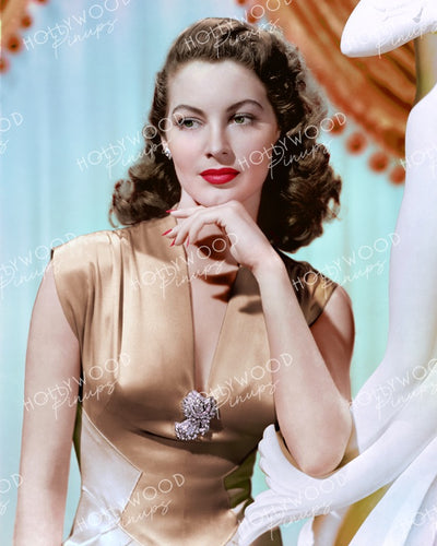 Ava Gardner Graceful Glamour 1944 | Hollywood Pinups | Film Star Colour and B&W Prints