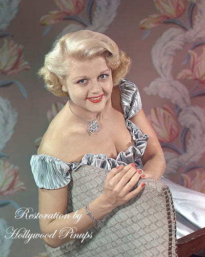 Angela Lansbury Silver Sheen 1949 | Hollywood Pinups | Film Star Colour and B&W Prints