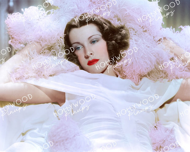 Frances Dee Feather Fantasy 1936 | Hollywood Pinups Color Prints