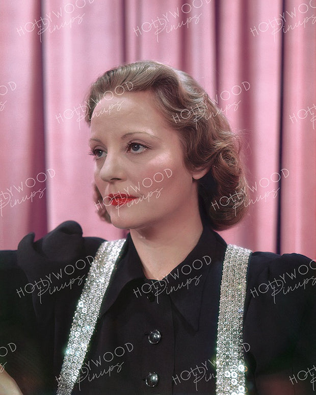 Tallulah Bankhead Sequin Suspenders 1938 | Hollywood Pinups | Film Star Colour and B&W Prints