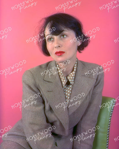 Luise Rainer Pretty Pink 1937 | Hollywood Pinups Color Prints