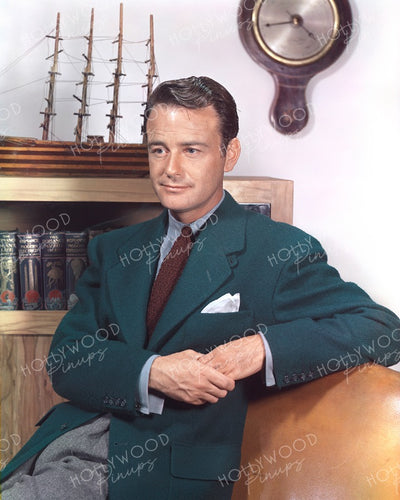 Lew Ayres Model Boat 1940 | Hollywood Pinups | Film Star Colour and B&W Prints