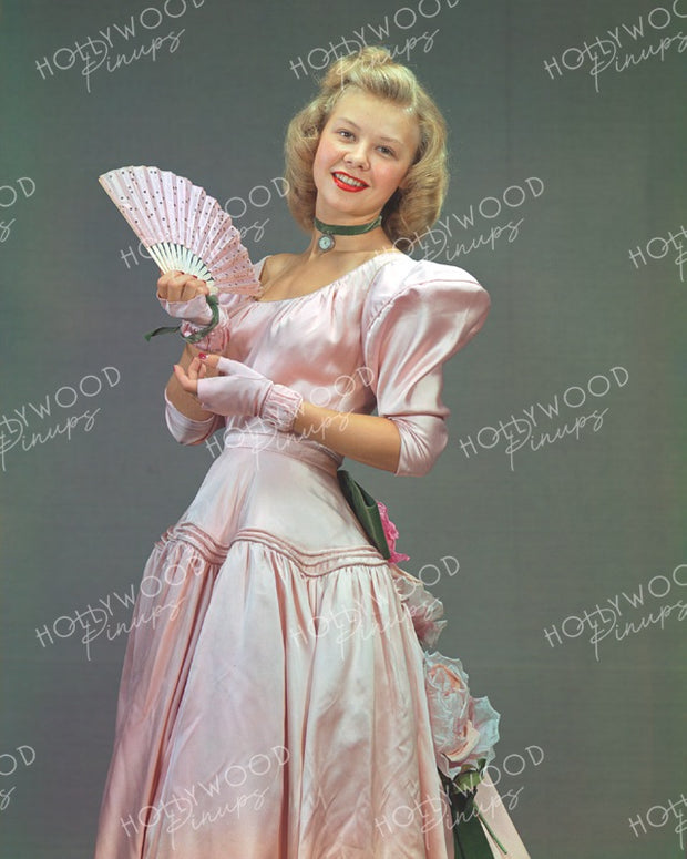 Vera-Ellen Pink Satin 1946 - NEW ! | Hollywood Pinups | Film Star Colour and B&W Prints