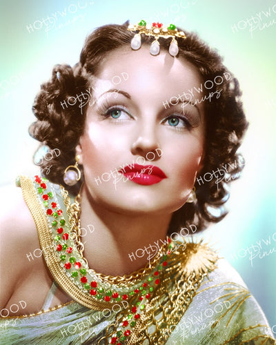 Rochelle Hudson Bejewelled Beauty 1938 | Hollywood Pinups Color Prints