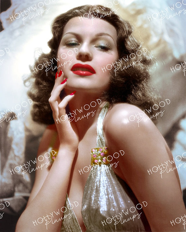 Rita Hayworth THE LOVE GODDESS by Whitey Schafer 1940 | Hollywood Pinups Color Prints