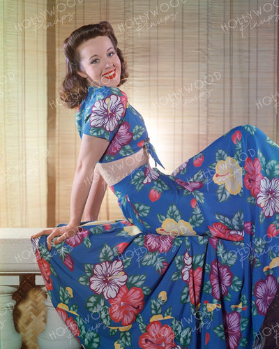 Peggy Moran by Jimmy Doolittle 1941 | Hollywood Pinups | Film Star Colour and B&W Prints