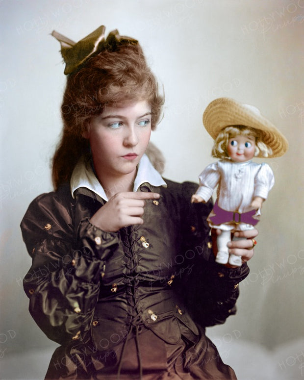 Dorothy Gish Porcelain Doll 1917 | Hollywood Pinups | Film Star Colour and B&W Prints