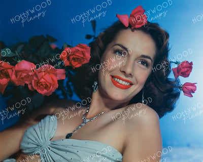 Jinx Falkenburg Red Roses 1941 | Hollywood Pinups Color Prints
