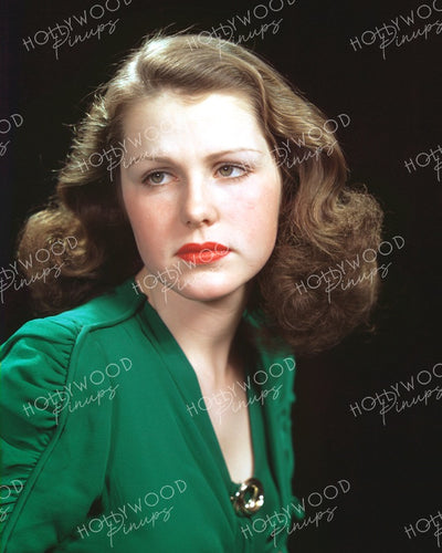 Helen Parrish Wistful Beauty 1940 | Hollywood Pinups | Film Star Colour and B&W Prints