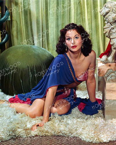 Hedy Lamarr DAZZLING DELILAH 1949 Kodachrome | Hollywood Pinups | Film Star Colour and B&W Prints