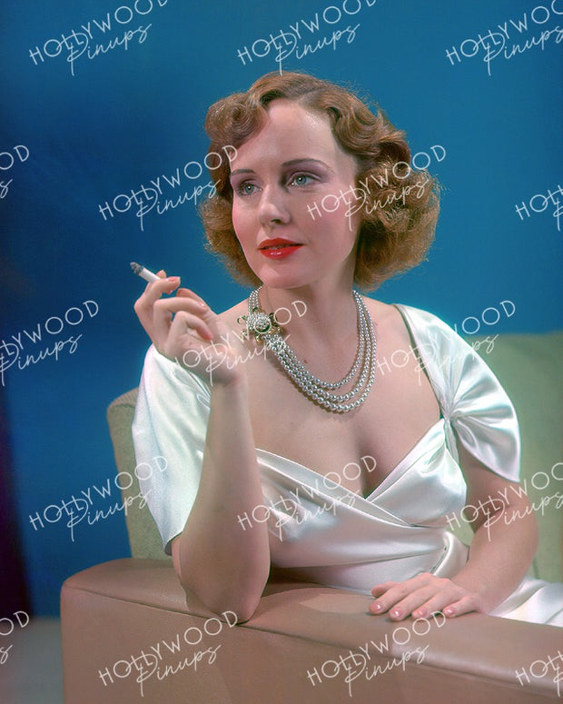 Madge Evans Sensual Allure 1937 | Hollywood Pinups | Film Star Color and B&W Prints