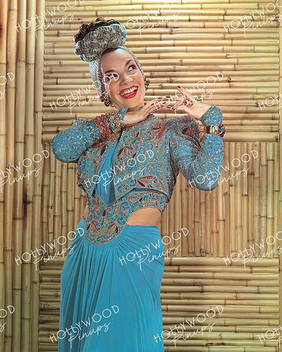 Carmen Miranda Dazzling Costume 1941 | Hollywood Pinups Color Prints