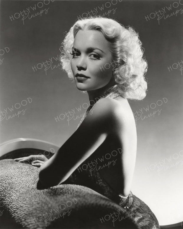 Jane Wyman Luminous Blonde by HURRELL 1939 | Hollywood Pinups | Film Star Colour and B&W Prints