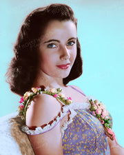 Elizabeth Taylor by CLARENCE BULL 1945 | Hollywood Pinups | Film Star Colour and B&W Prints