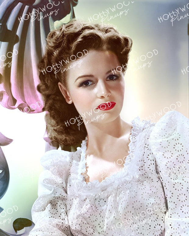 Donna Reed Lacy Belle 1943 | Hollywood Pinups Color Prints