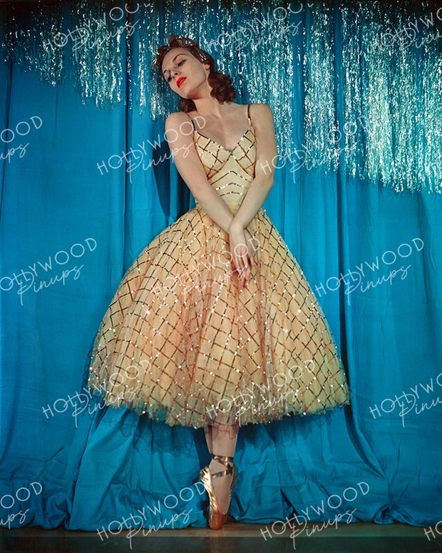 Vera Zorina in THE GOLDWYN FOLLIES 1938 | Hollywood Pinups Color Prints
