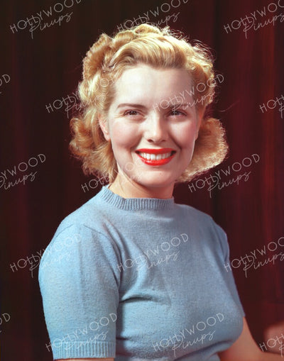 Brenda Joyce Smiling Beauty 1940 | Hollywood Pinups | Film Star Colour and B&W Prints