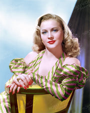 Anne Jeffreys by ERNEST BACHRACH 1946 | Hollywood Pinups | Film Star Colour and B&W Prints