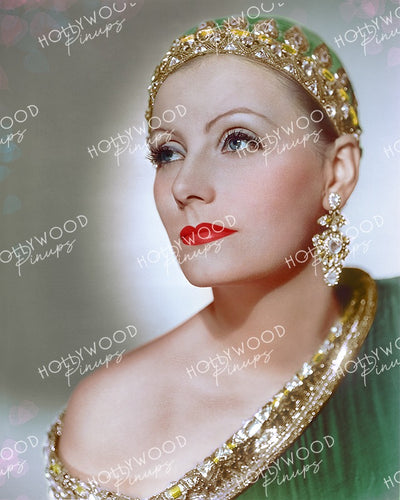 Greta Garbo in MATA HARI 1931 by Clarence Sinclair Bull | Hollywood Pinups Color Prints