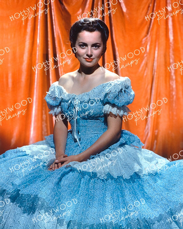 Olivia de Havilland in SANTA FE TRAIL 1940 Kodachrome | Hollywood Pinups Color Prints