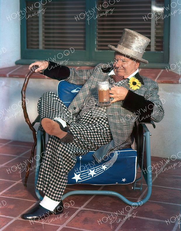 W.C. Fields by JAMES DOOLITTLE 1938 | Hollywood Pinups | Film Star Colour and B&W Prints