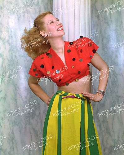 Dinah Shore Striking Profile 1945 | Hollywood Pinups | Film Star Colour and B&W Prints