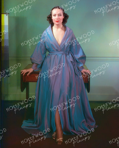 Dolores Del Rio at WALDORF ASTORIA 1936 | Hollywood Pinups Color Prints