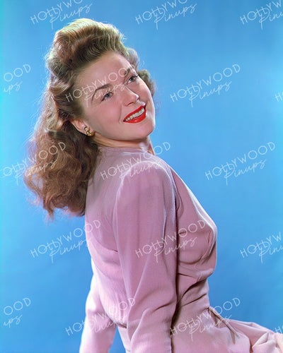 Marguerite Chapman Dusty Pink 1943 | Hollywood Pinups Color Prints