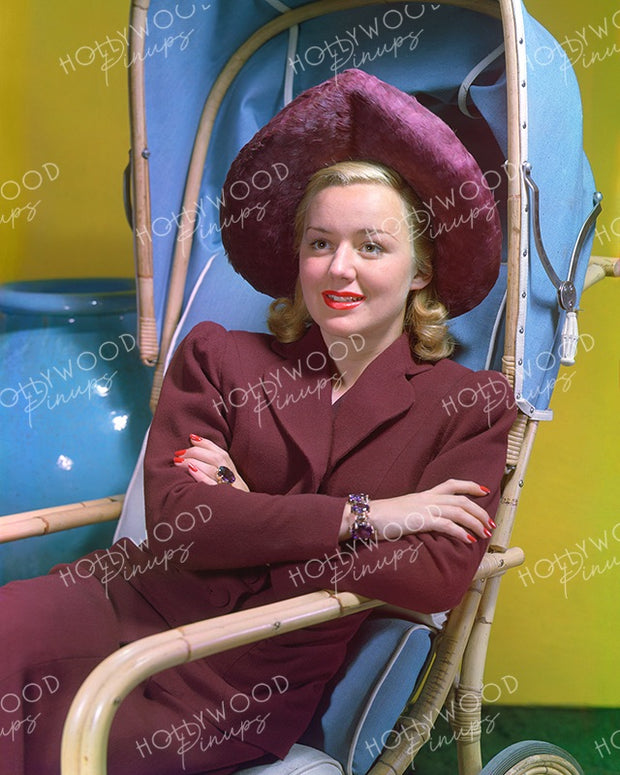Anne Shirley Blonde Belle 1940 | Hollywood Pinups Color Prints