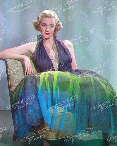 Jan Sterling Brassy Blonde 1951 | Hollywood Pinups | Film Star Colour and B&W Prints