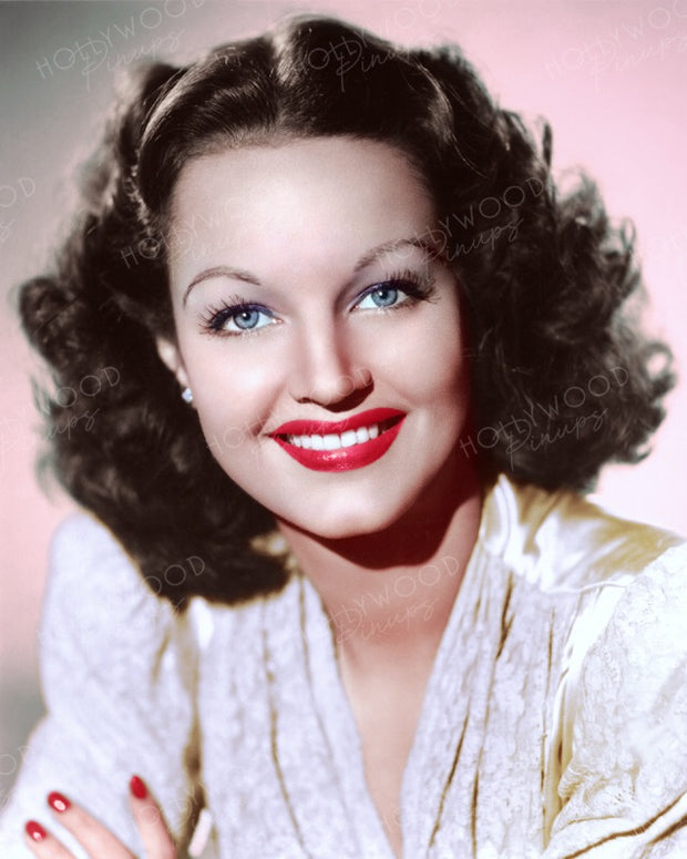 Rochelle Hudson Dreamy Eyes 1941 | Hollywood Pinups | Film Star Colour and B&W Prints