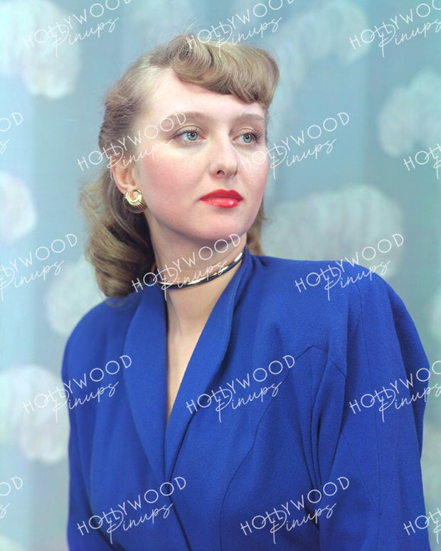Celeste Holm Blue Belle 1946 - NEW ! | Hollywood Pinups | Film Star Colour and B&W Prints