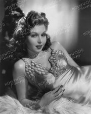 Ann Miller Alluring Glamour 1942 by WHITEY SCHAFER - NEW ! | Hollywood Pinups | Film Star Colour and B&W Prints
