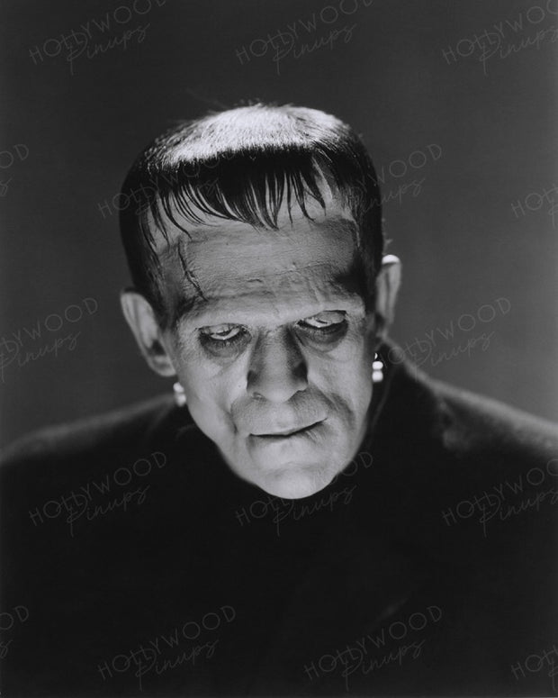 Boris Karloff in FRANKENSTEIN 1931 | Hollywood Pinups | Film Star Colour and B&W Prints