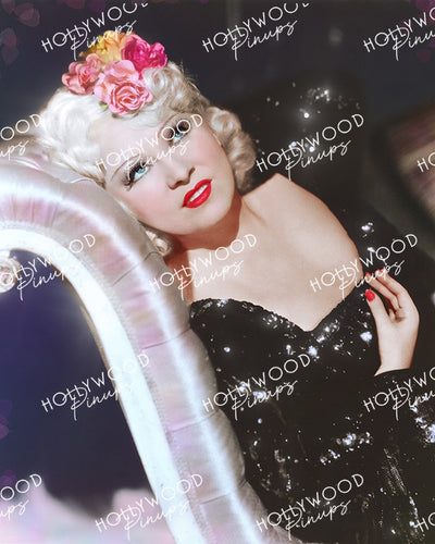Mae West Sparkling Glamour 1936 by RICHEE | Hollywood Pinups Color Prints