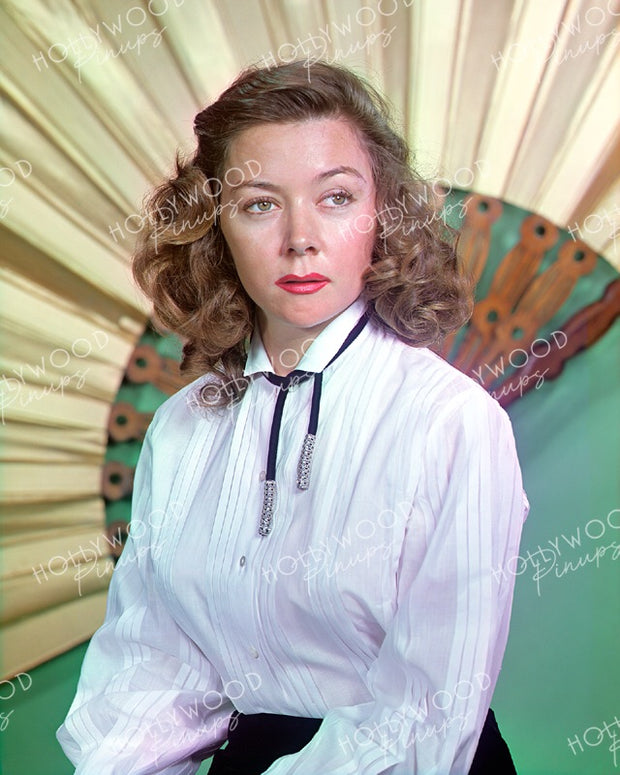 Gloria Grahame Tough Gaze 1955 | Hollywood Pinups | Film Star Colour and B&W Prints