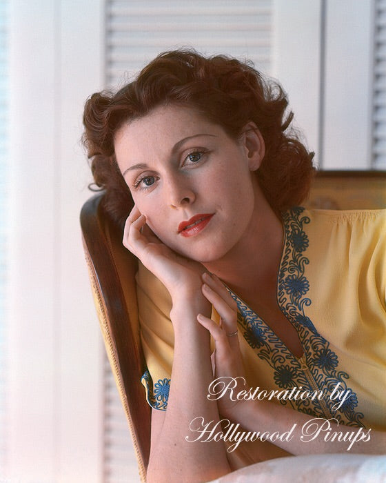 Frances Dee Natural Beauty 1938 | Hollywood Pinups | Film Star Colour and B&W Prints