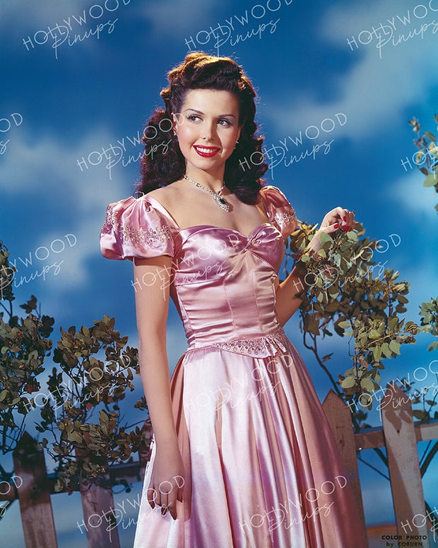 Ann Miller by BOB COBURN 1945 Kodachrome | Hollywood Pinups | Film Star Colour and B&W Prints