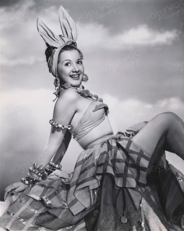 Olga San Juan in BLUE SKIES 1946 | Hollywood Pinups | Film Star Colour and B&W Prints