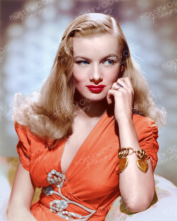 Veronica Lake Blonde Glamour 1942 by EUGENE RICHEE | Hollywood Pinups Color Prints