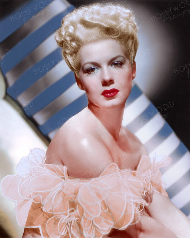 Betty Hutton Blonde Belle by WHITEY SCHAFER 1944 | Hollywood Pinups | Film Star Colour and B&W Prints