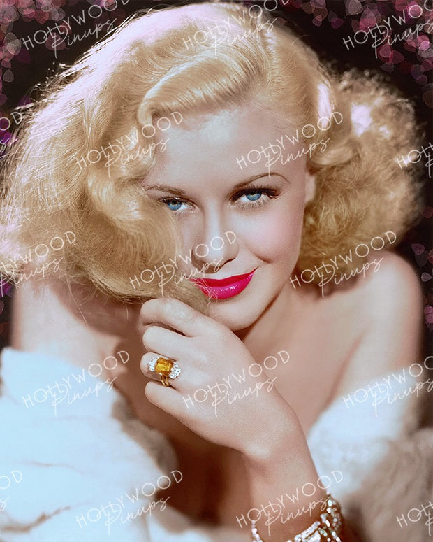 Ginger Rogers Topaz Blonde from TOP HAT 1935