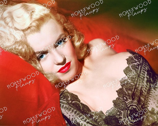 Marilyn Monroe Alluring Lace 1948 | Hollywood Pinups Color Prints