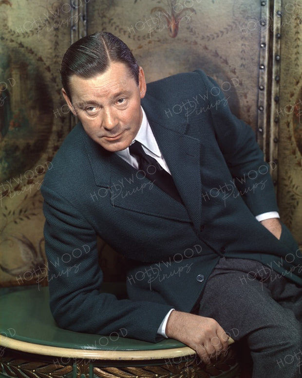 Herbert Marshall Distinguished Style 1940 | Hollywood Pinups | Film Star Colour and B&W Prints