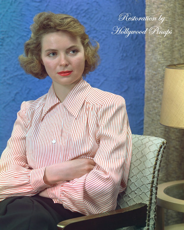 Dorothy McGuire Enchanting Beauty 1945 | Hollywood Pinups | Film Star Colour and B&W Prints